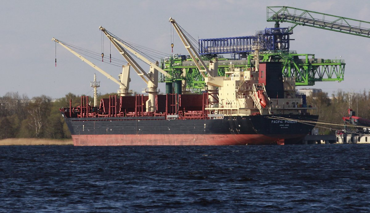 PACIFIC PIONEER vessel IMO:9739082