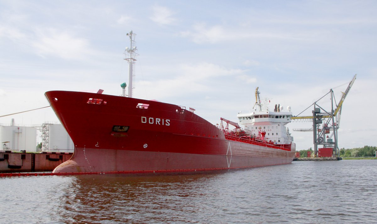 DORIS vessel IMO:9172210