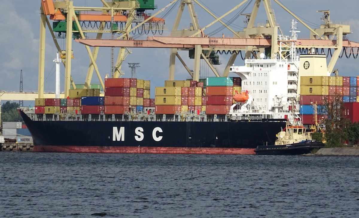MSC JOY vessel IMO:9039250